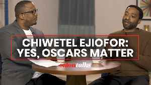 Academy Award nominee Chiwetel Ejiofor on Hollywood's biggest awards [Video]