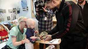Roman Reigns, Seth Rollins, Finn Balor & Natalya Visit Children's Hospital Patients In Pittsburgh [Video]