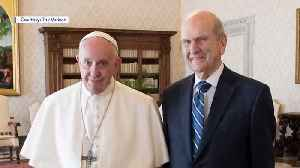 For First Time Ever, Pope Meets a President of the LDS Church [Video]