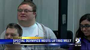 Lane county hosts Special Olympics lifting meet [Video]