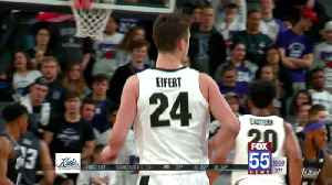 Eifert Helps Lead Boilers to Another B1G Title [Video]