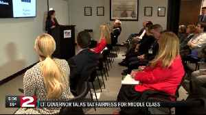 Hochul touts governor's tax fairness for middle class in Utica [Video]
