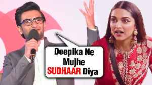 Ranveer Singh EPIC REACTION On Life After Marrying Deepika Padukone [Video]