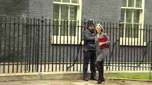 Cabinet arrive in Downing Street ahead of Meaningful Vote [Video]