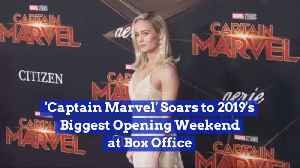 Captain Marvel's Number One At The Box Office [Video]