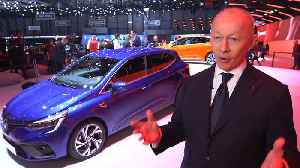 Renault at Geneva Motor Show 2019 - Thierry Bolloré, CEO of Renault Group [Video]