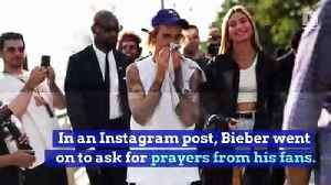 Justin Bieber Reveals He Is 'Struggling' in Social Media Post [Video]