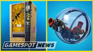 News video: Fortnite Update Adds Baller Vehicle And Changes Vending Machines