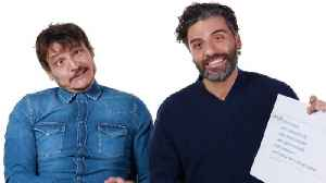 Oscar Isaac & Pedro Pascal Answer the Web's Most Searched Questions [Video]