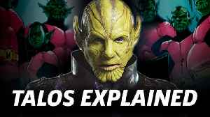 Talos' Very Different Marvel Comics Origins | Captain Marvel [Video]