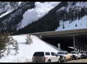 Controlled Avalanches Triggered at Colorado's Copper Mountain [Video]