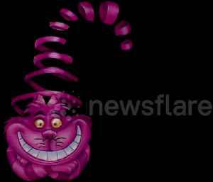 Awesome bodypaint illusion looks like moving Cheshire Cat [Video]