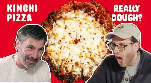 Kimchi Pizza: Is It Still a Pizza if You Eat It With Chopsticks? [Video]