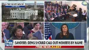 Jim Acosta spars with Sarah Sanders of Trump statement [Video]