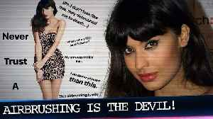 Jameela Jamil RIPS Apart Airbrushed Photo of Herself: 'I Don't Look Like This' [Video]