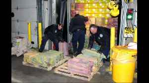 $77M cocaine haul seized at NY-area port [Video]