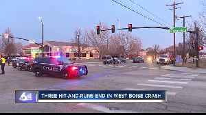 Police: Three Meridian hit-and-runs end with west Boise crash [Video]