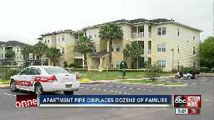 Dozens of people left homeless after large fire destroys 24 apartments in Lakeland [Video]