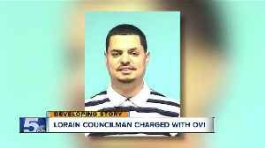 Lorain councilman arrested for OVI after crash; third arrest in 18 months [Video]