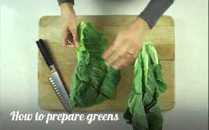 How to: prepare greens [Video]
