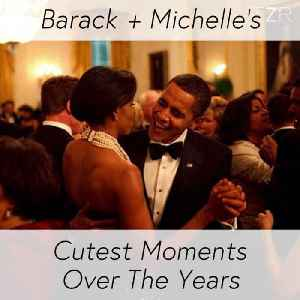 Barack + Michelle's Cutest Moments Over The Years [Video]