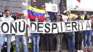 Venezuelan migrants stage protest in Colombia's capital against power outage in home country [Video]