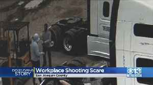 Workplace Shooting Scare In Lathrop [Video]