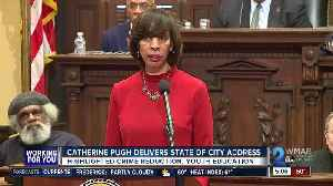 Mayor Pugh delivers State of the City address [Video]