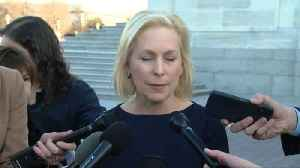 Sen. Kirsten Gillibrand defends office's handling of claims against staffer [Video]