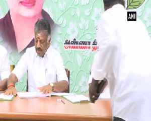 AIADMK leaders conduct interview for aspiring Lok Sabha candidates [Video]