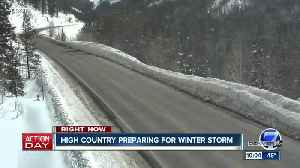 High country preparing for winter storm [Video]