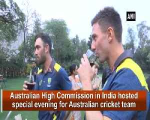 Australian High Commission hosts special evening for Australian Cricket Team [Video]
