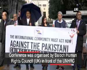 Baloch activists demand UN intervention to stop genocide in Balochistan [Video]