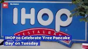 It's Free Pancake Tuesday At IHOP [Video]