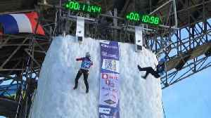 Russia triumphs at Ice Climbing World Championships [Video]