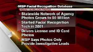 Report: Michigan State Police facial image database grows [Video]