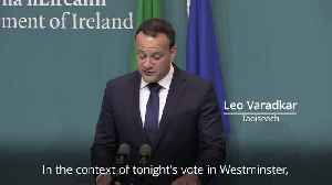 News video: Leo Varadkar: Brexit backstop fears put to bed