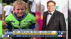 Two killed, including 7-year-old boy, six others injured in Bel Air crash [Video]