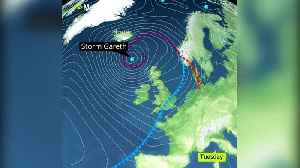 Warning of travel disruption and power cuts as Storm Gareth blows in [Video]