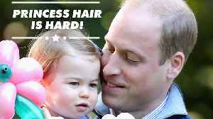 Prince William watches YouTube hair tutorials [Video]