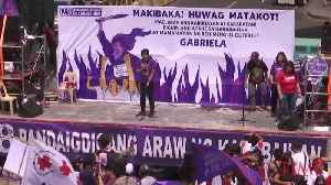 Women Activists Protest Philippine President Rodrigo Duterte on International Women's Day [Video]