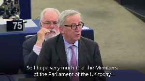 News video: Juncker on Brexit: This was a second chance, but there won't be a third one