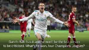 Giggs: Bale criticism comes with the territory at Real Madrid [Video]