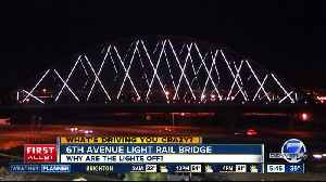 What happened to the lights on the 6th Ave. light rail bridge? [Video]