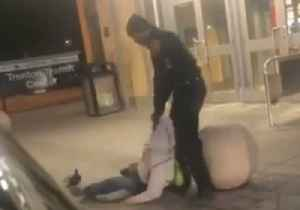 New Jersey Transit Cop Drags Man Along Ground Outside Station [Video]