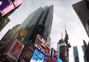 GoPro in Pothole Shows Worm's-Eye View of Times Square [Video]