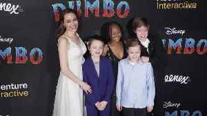 Right Now: Angelina Jolie and Her Kids Shut Down the Red Carpet at the Dumbo Premiere [Video]