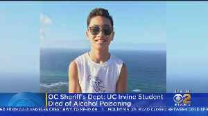 UC Irvine Student Died Of Alcohol Poisoning At Off-Campus Frat Party In January [Video]