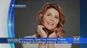 News video: Actresses Charged In ationwide College Admissions Scheme