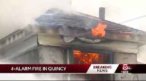 4 buildings burn, 2 collapse in Quincy fire [Video]